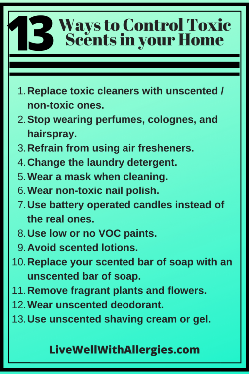 13 ways to control toxic scents in your home!